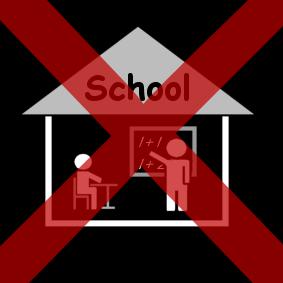 geen-school-rood