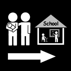 ouders naar school